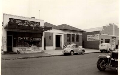 Canegie Post Office c1942