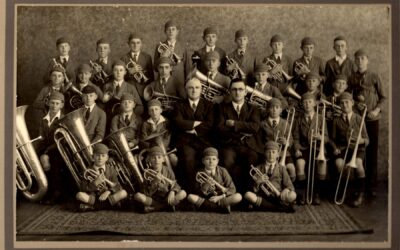 Carnegie State School brass band 1932