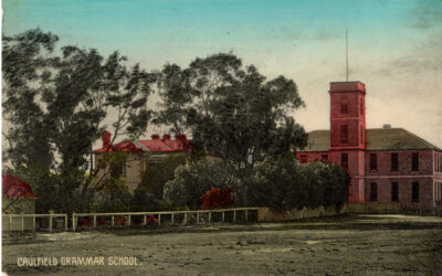 Caulfield Grammar School postcard