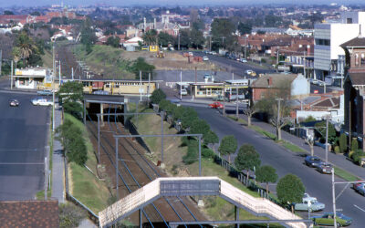 Elsternwick from ABV-2 roof, 1974