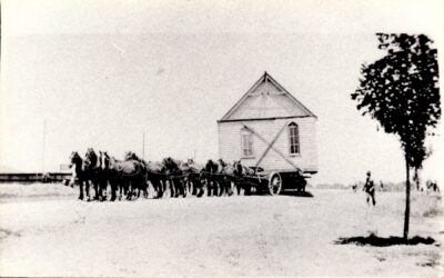 Methodist church on way to Murumbeena 1920