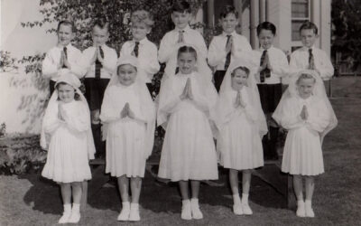 St Joseph's Church Elsternwick communicants 1955